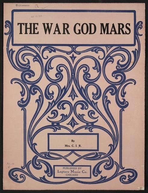 The  war god mars