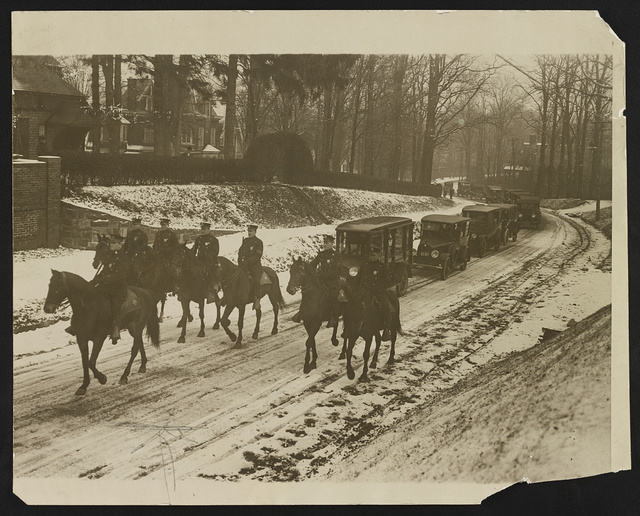 Theo Roosevelt funeral
