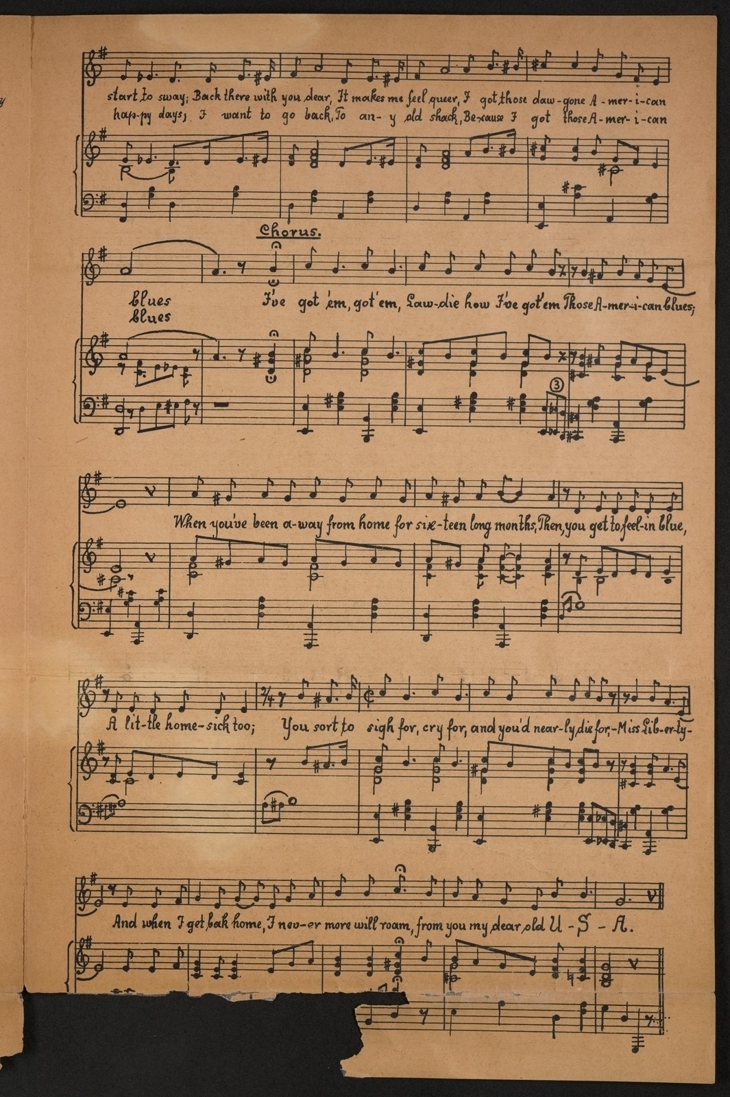 Those American blues - PICRYL Public Domain Image