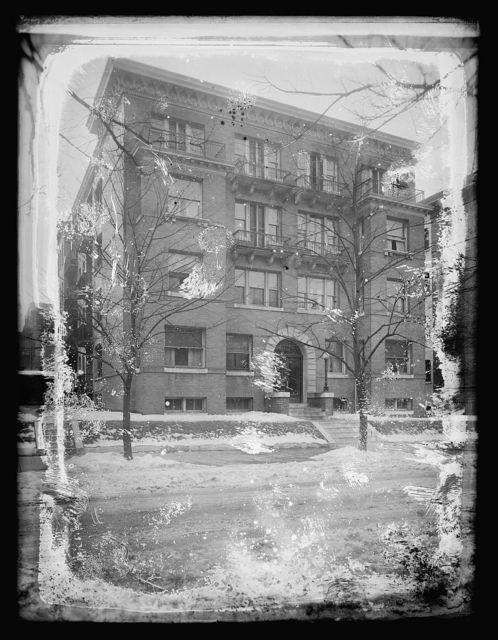 Times, Dudley Apt., R. St., [Washington, D.C.]