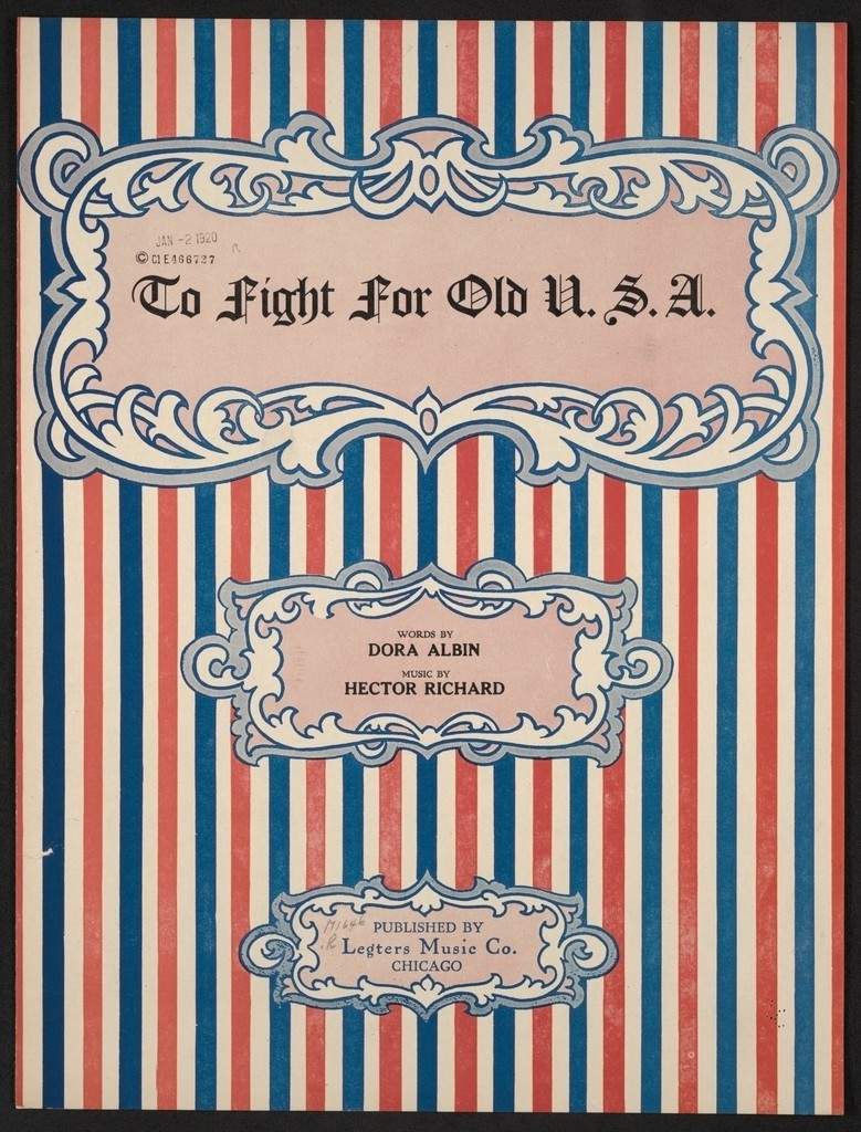 To fight for old U.S.A