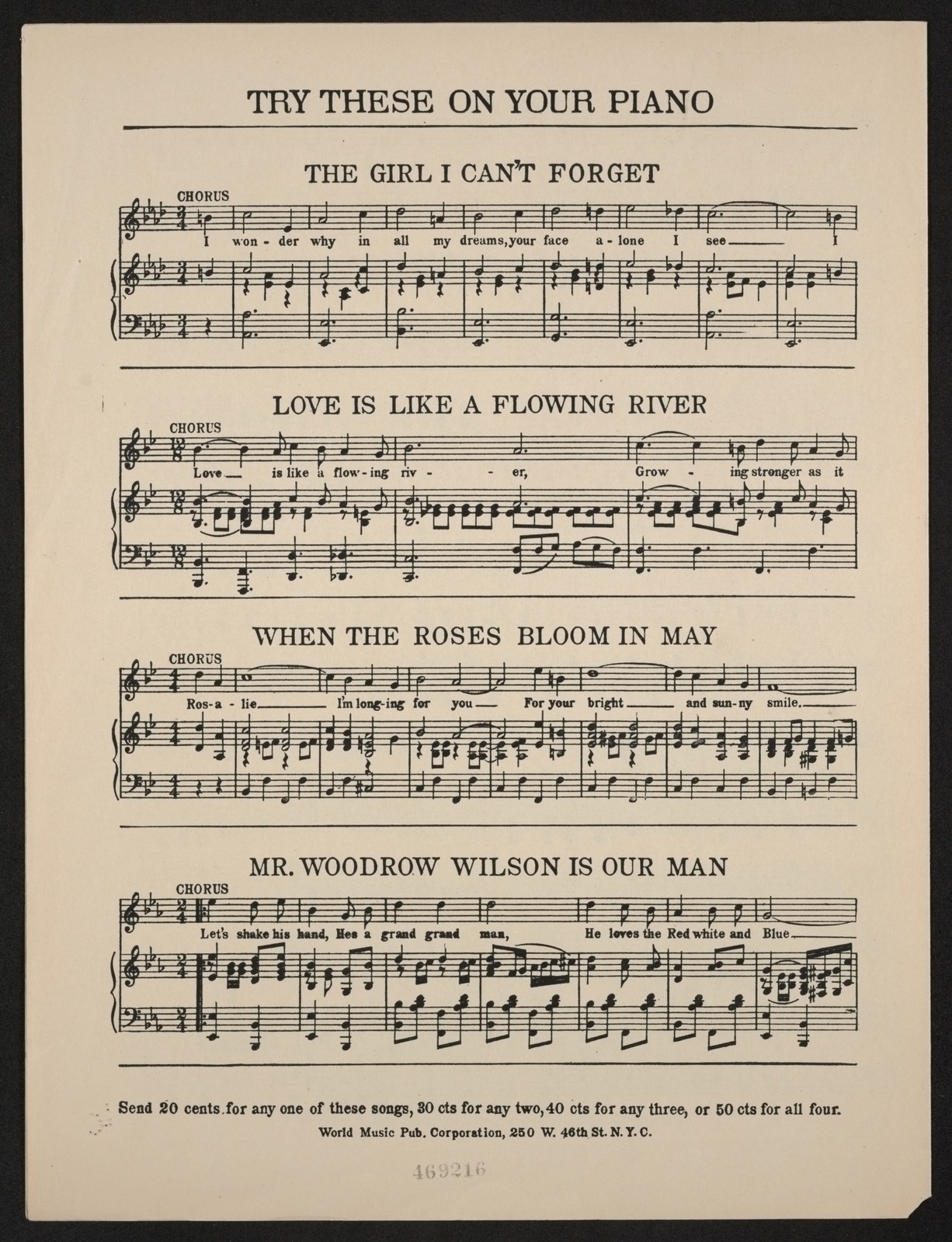 To Wilson song