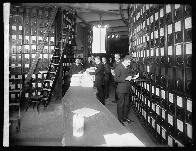 U.S. Capitol, House document room, [Washington, D.C.]