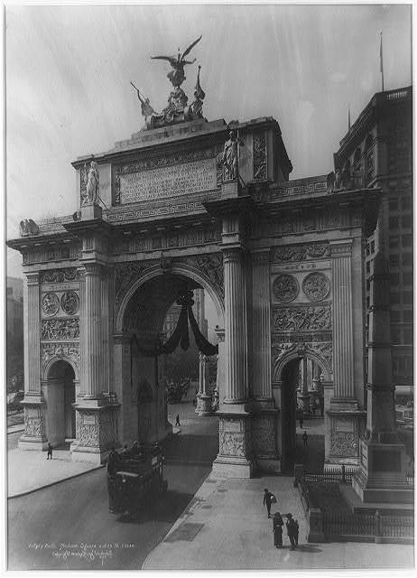 Victory Arch, Madison Square and 25th St., New York City