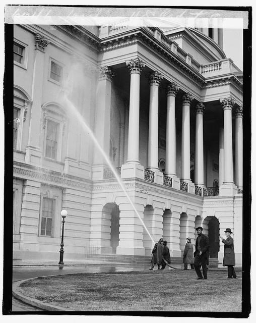 Washing U.S. Capitol