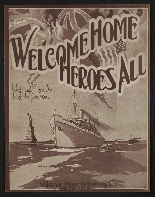 Welcome home, heroes all! a greeting to the boys from over there