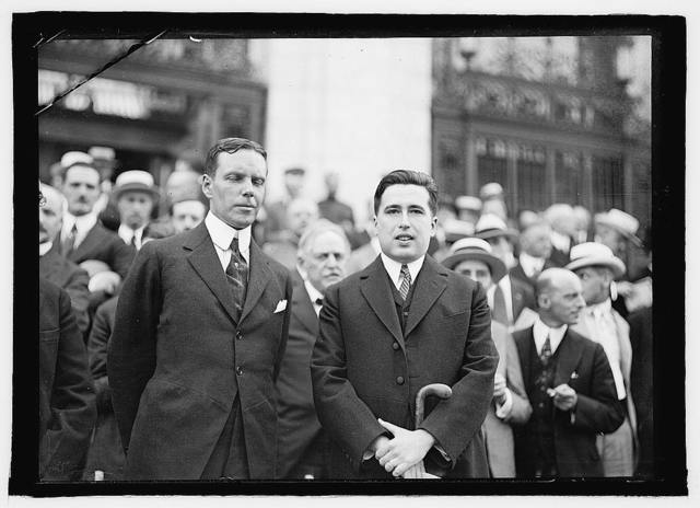 Wm. Phillips, Asst. Sec. of State, Dr. Juan B. Rojo, Counseler Mexican Embassy, Pan. American Union, 2nd Commercial Conference, June 2-6, 1919