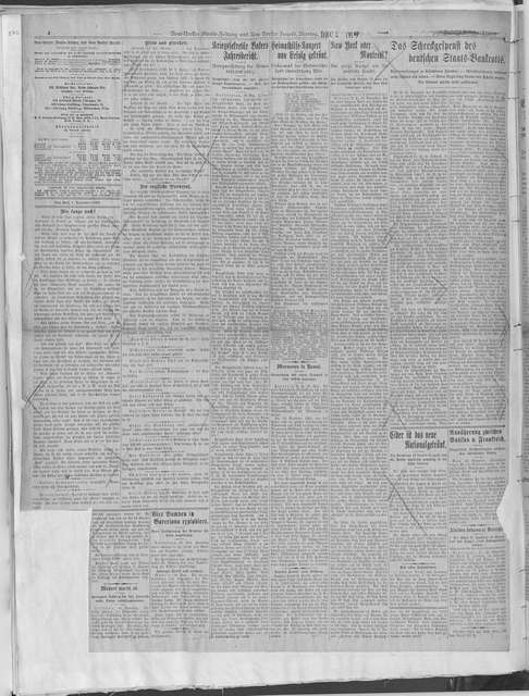 World War history : daily records and comments as appeared in American and foreign newspapers, 1914-1926 (New York), November 1, 1919, (1919 November 1-30)