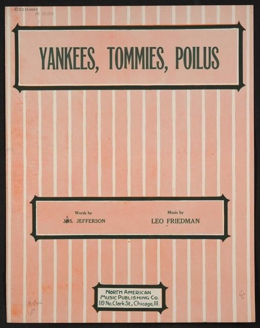 Yankees, Tommies, Poilus