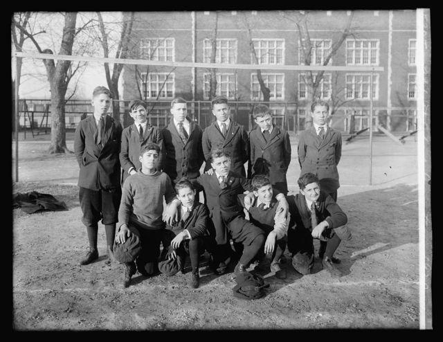 Abbot School soccer team, 1920
