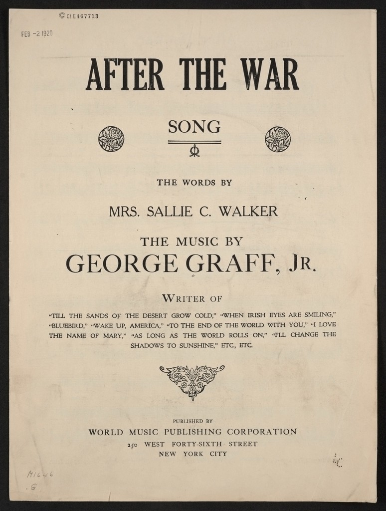 After the war song
