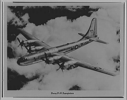 Airplanes. Boeing B-50 Superfortress