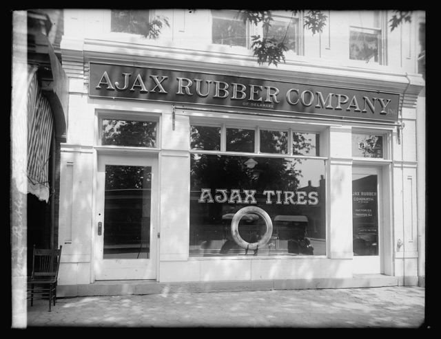 Ajax Rubber Co. front
