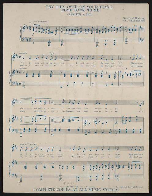 All hail! To Foch! = Salut! A Foch! : song