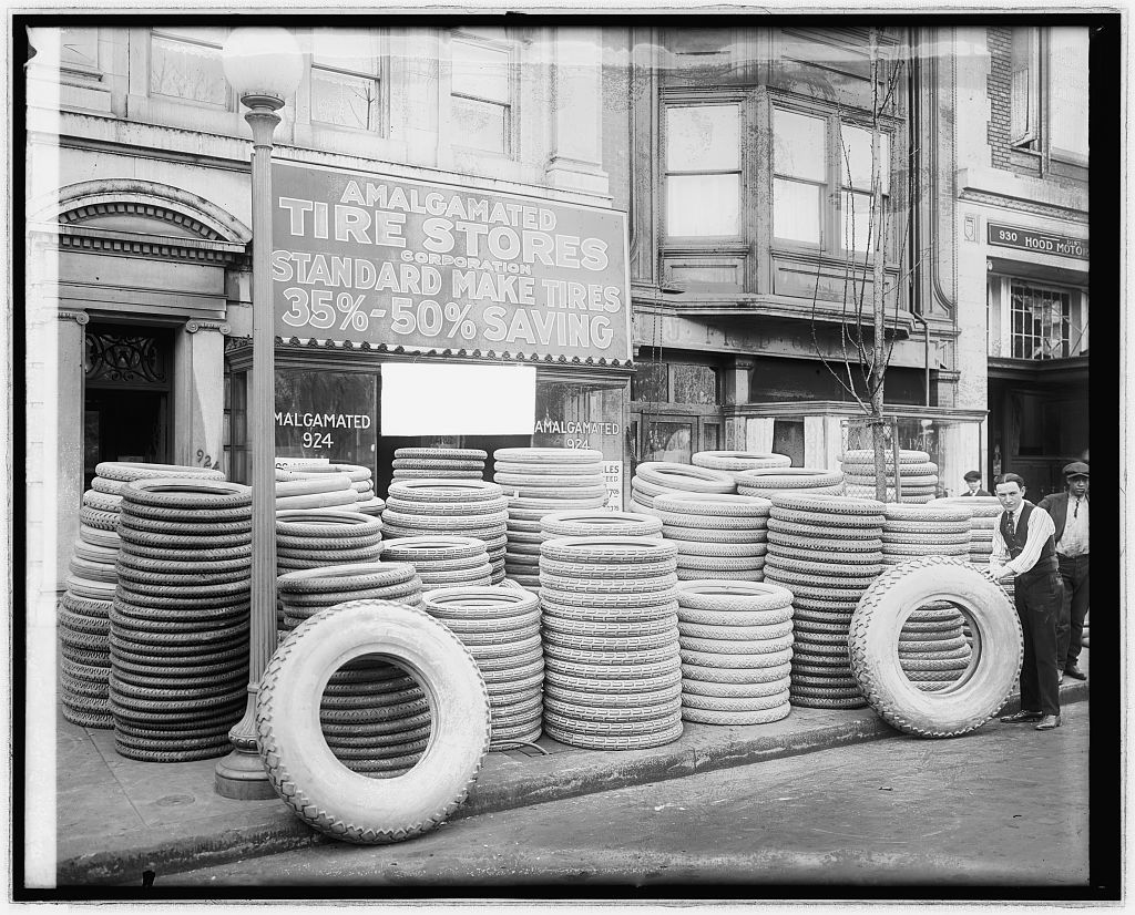 Amalamated Tire store, front