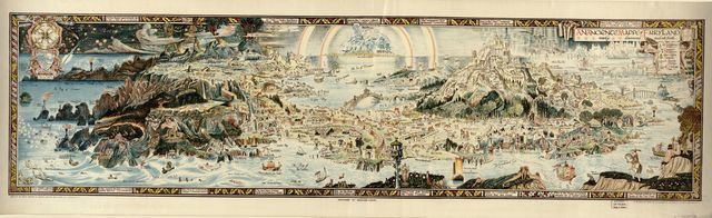 An anciente mappe of Fairyland : newly discovered and set forth : [imaginary locality] /