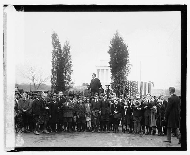 Arbor day, 1920, E.T. Meredith, 4/16/20