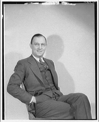 Armstrong. Portrait of Mr. Armstrong seated
