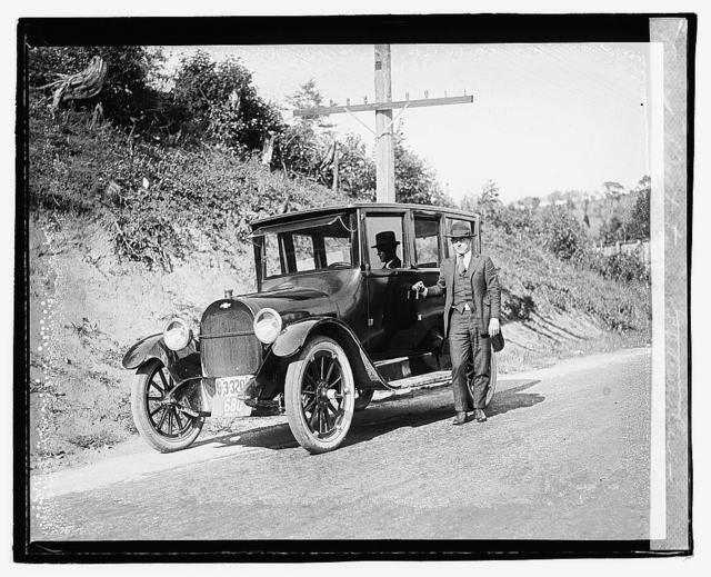 Balto. tour, Gardener car, Chevrolet