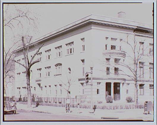Benjamin Franklin University. Exterior of School of Accountancy, Benjamin Franklin University IV