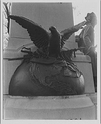 Birds. Eagle (carving on Memorial of Kosciuszko) II