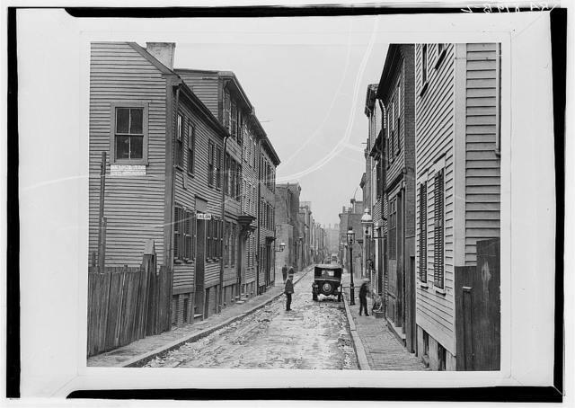 Boston, Massachuestts. Slum