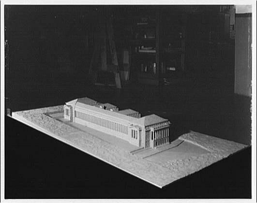 Building. Model of building II