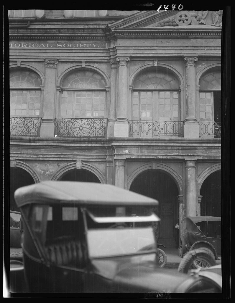 Cabildo facade, New Orleans