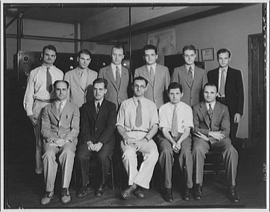 Capitol Radio Engineering Institute. Student portrait from Capitol Radio Engineering Institute II