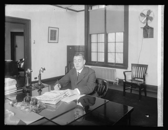 C.G. Newton, Chief of Income Tax Div., Int. Rev.