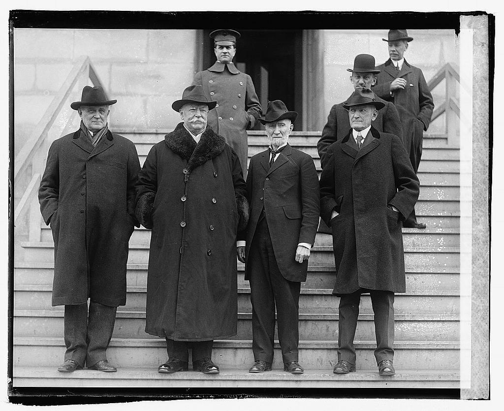 Champ Clark, W.H. Taft, Jos. G. Cannon, Ex. Gov. Samuel W. McCall