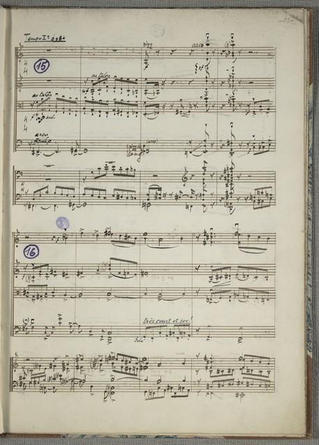 Concertino composé pour Le Quattuor de Flonzaley