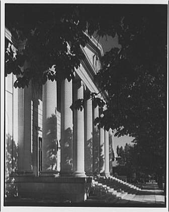 Daughters of the American Revolution. Constitution Hall portico II