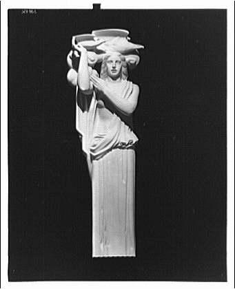 Department of Justice. Statue representing Air at Department of Justice