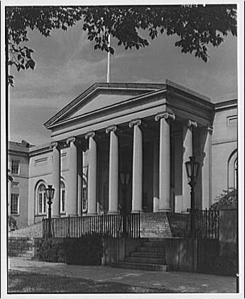 District of Columbia government buildings. District Court, main entry II