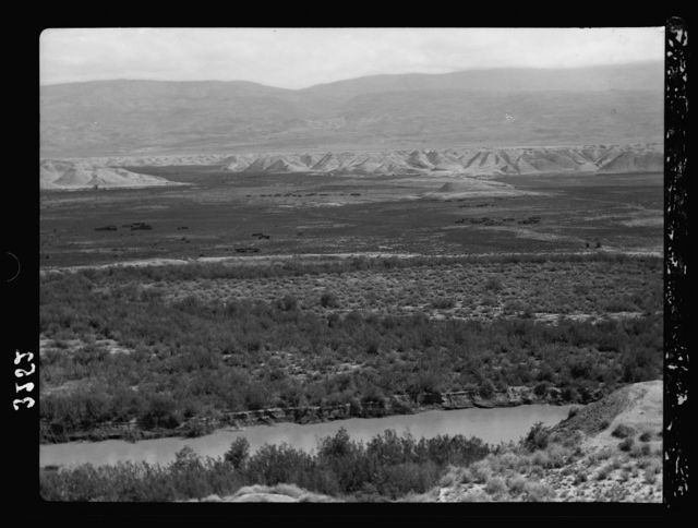 Down the Jordan Valley from the Sea of Galilee to the Dead Sea. Tell Damieh. At the junction of the Jabbok and Jordan Rivers