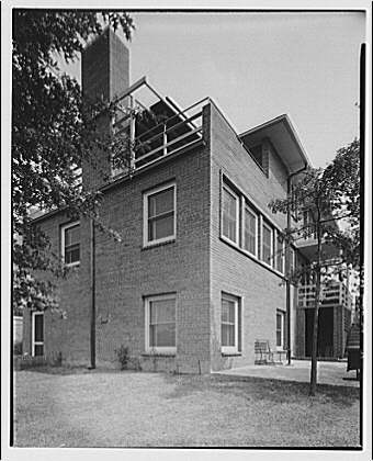 Dr. R.J. Bunche, house on 1510 Jackson St., N.E. Exterior of house at 1510 Jackson St., N.E. II