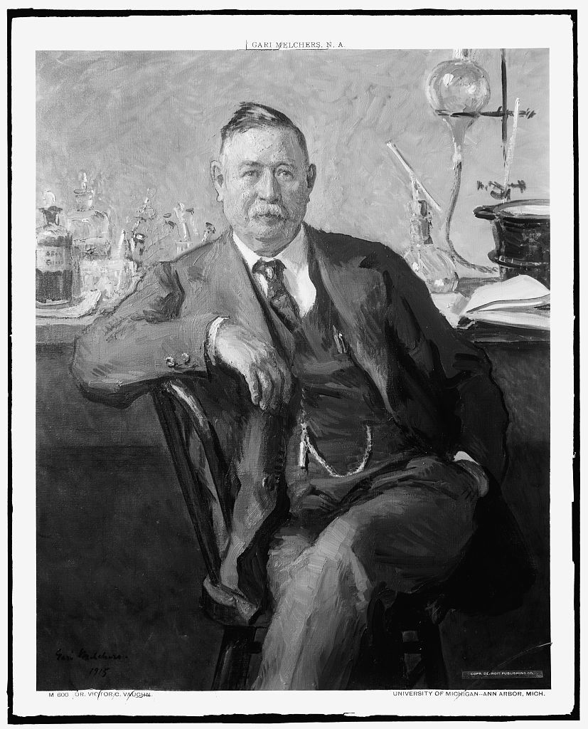 [Dr. Victor C. Vaughn, full-length portrait]