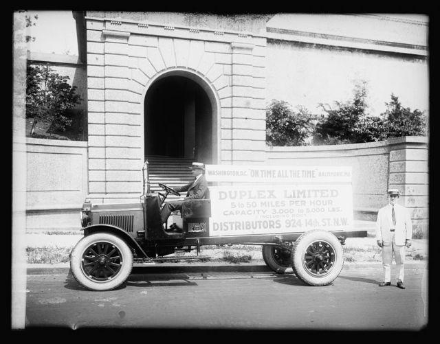 Duplex truck, 1920