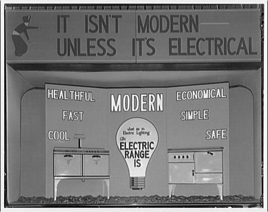 Electric Institute of Washington. Electric cooking utensils and displays II