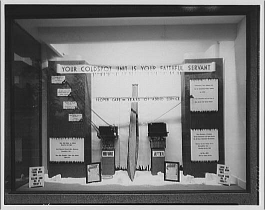 Electric Institute of Washington. Sears Roebuck window