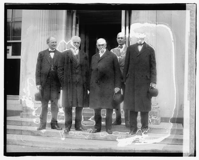 E.O. Watson, Bishop Wm. Frasier McDonell, Bishop Eugene Russell Hendrix, Rev. Jm. Henderson, Clyde F. Armstrong