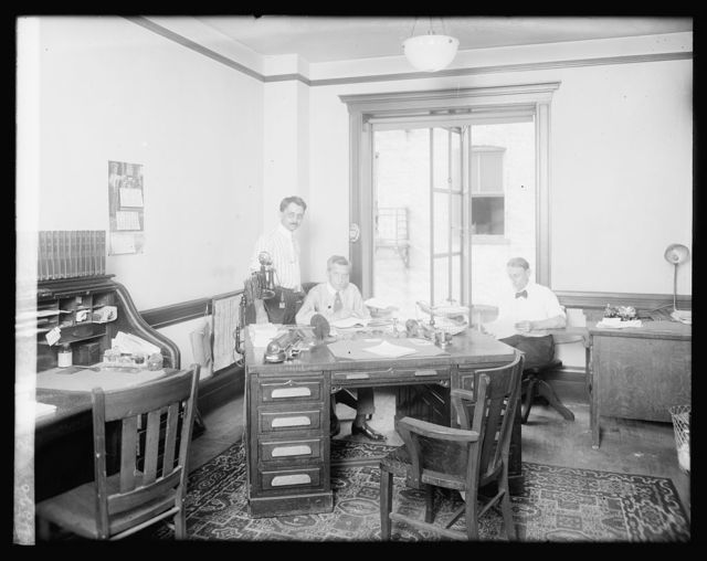 Faulkler, Inc., interior of ofc.