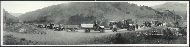 First East Bay Ship by Truck Tour, May 17-21, 1920, Robert W. Martland, Train Commander