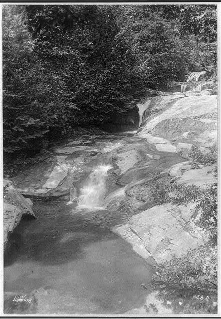 [Four views in western North Carolina: the three pools]