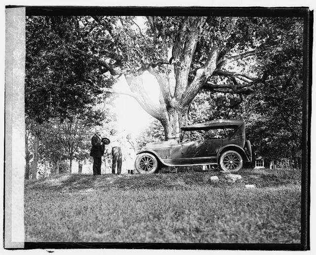 Fredericksburg tour, Jordan car
