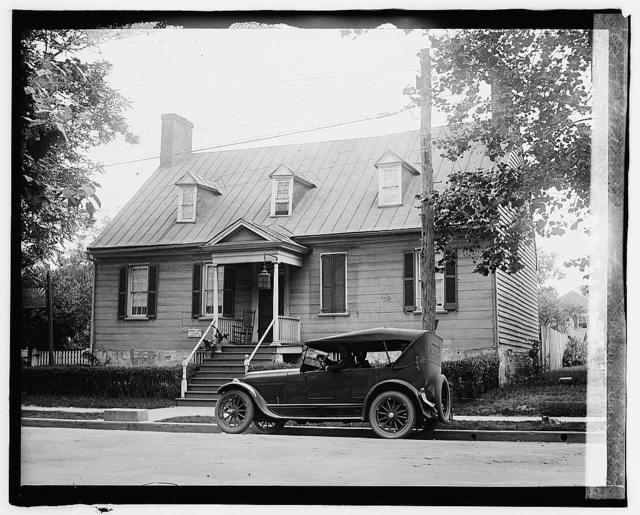 Fredericksburg tour, Rising Sun Tavern [..]