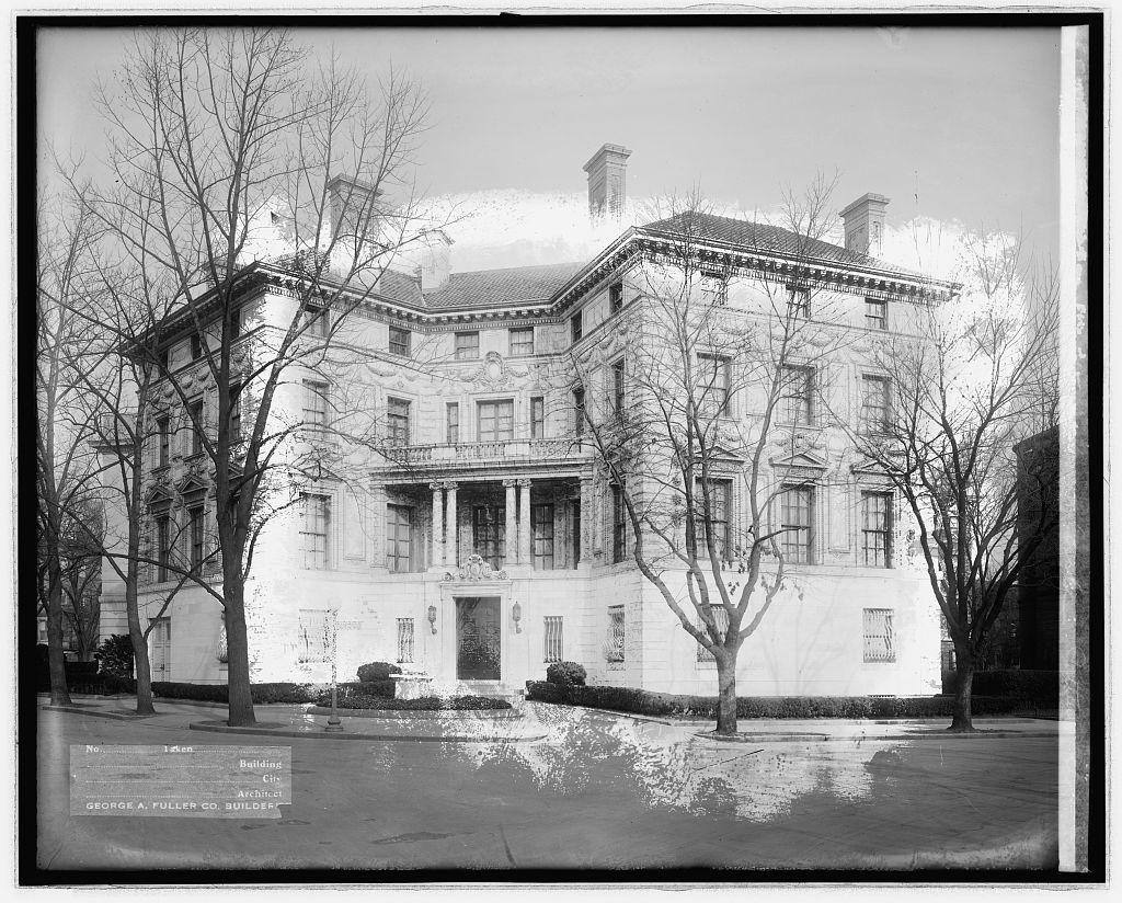 Fuller Co., 15 Dupont Circle, Patterson res., [Washington, D.C.]