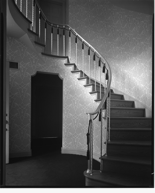 G. Romney, 2706 44th St., N.W. Staircase in George Romney's house I