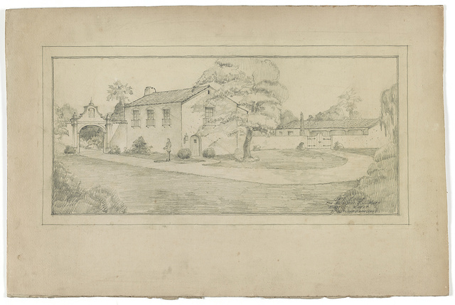 [Gate lodge for Mr. and Mrs. E. J. Miley (Montecito, California)] / by Mrs. James Osborne Craig.